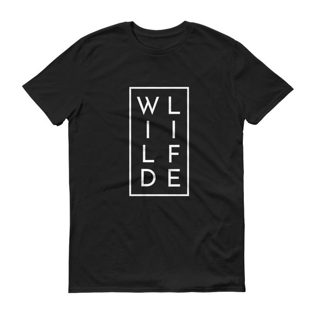 WILDLIFE Conservation T-Shirt Black – World With Wildlife