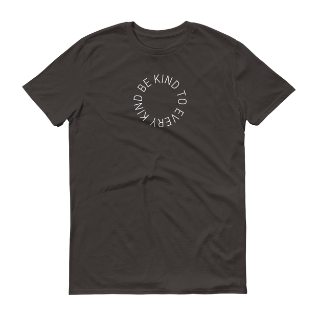 Be Kind to Every Kind T-Shirt Smoke Grey – World With Wildlife
