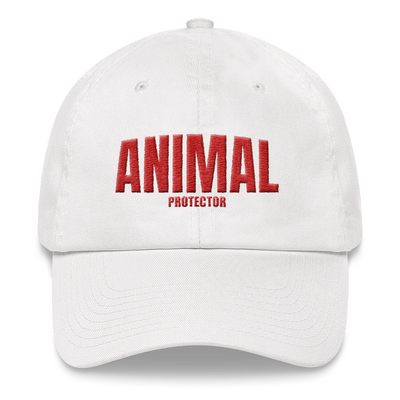 ANIMAL Protector Cap White – World With Wildlife