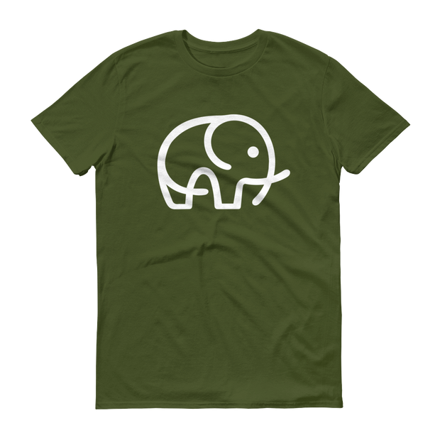 World With Wildlife Logo T-Shirt Olive Green