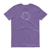 Be Kind to Every Kind Athletic T-Shirt Heather Purple  – World With Wildlife