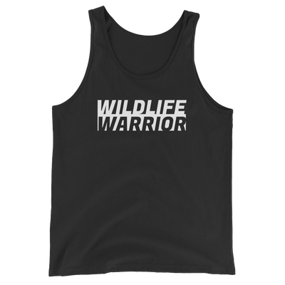 Wildlife Warrior Black Tank Top: Wildlife Conservation Tops & Apparel