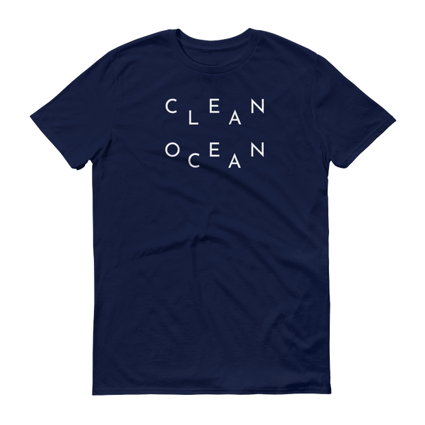 Clean Ocean T-Shirt Navy – World With Wildlife