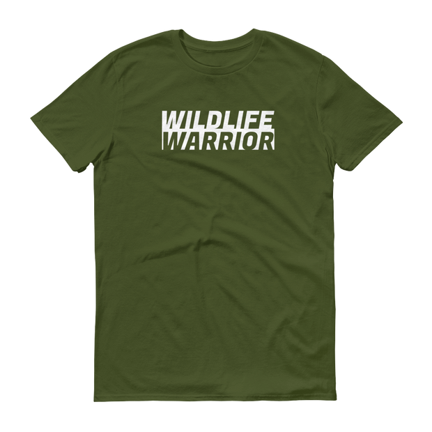 Wildlife Warrior Olive Green T-Shirt – World With Wildlife