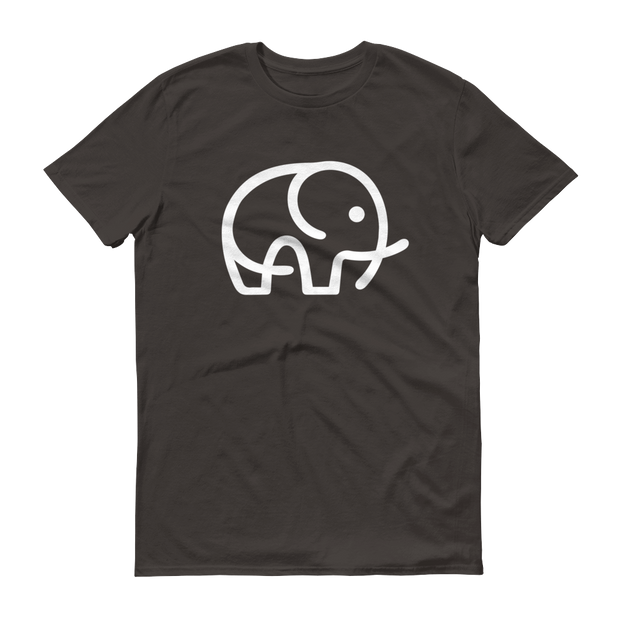 World With Wildlife Logo T-Shirt Smoke Grey