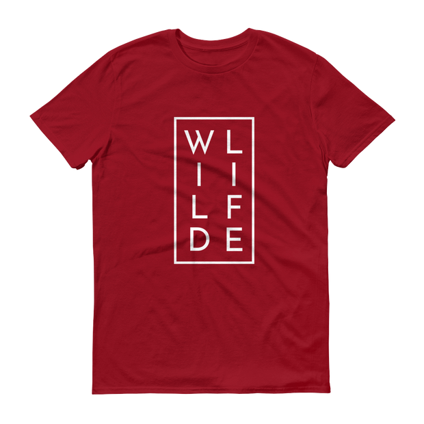 WILDLIFE Conservation T-Shirt Red – World With Wildlife