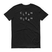 Clean Ocean T-Shirt Black – World With Wildlife