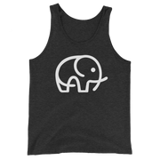 Technical Elephant Charity Top: Elephant Conservation Tanks & Tees