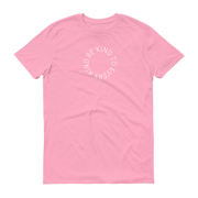 Be. Cause. Elephants T-Shirt Pink – World With Wildlife