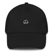 Cute Elephant Cap Black – World With Wildlife