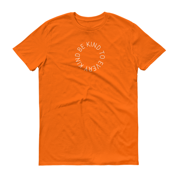 Be. Cause. Elephants T-Shirt Orange – World With Wildlife
