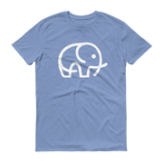 World With Wildlife Logo T-Shirt Light Blue
