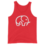 Red Elephant Charity Top: Elephant Conservation Tank Top & Apparel