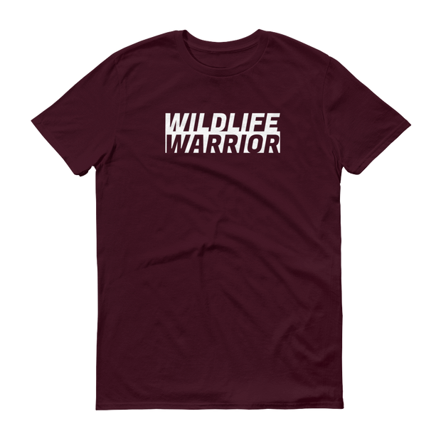 Wildlife Warrior Maroon Brown T-Shirt – World With Wildlife
