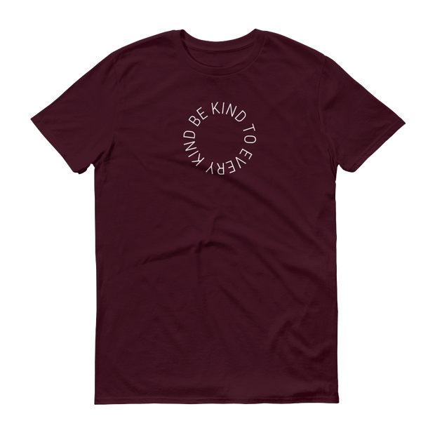 Be. Cause. Elephants T-Shirt Maroon Brown – World With Wildlife
