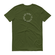 Be Kind to Every Kind T-Shirt Olive Green – World With Wildlife