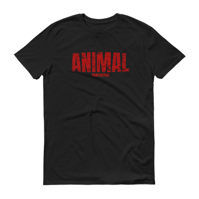 ANIMAL Protector T-Shirt Black – World With Wildlife