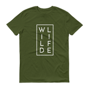 WILDLIFE Conservation T-Shirt Olive Green – World With Wildlife