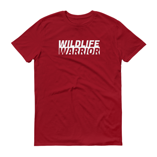 Wildlife Warrior Red T-Shirt – World With Wildlife