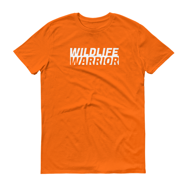 Wildlife Warrior Orange T-Shirt – World With Wildlife