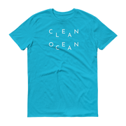 Clean Ocean T-Shirt Turquoise – World With Wildlife