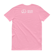 World With Wildlife Logo T-Shirt Pink