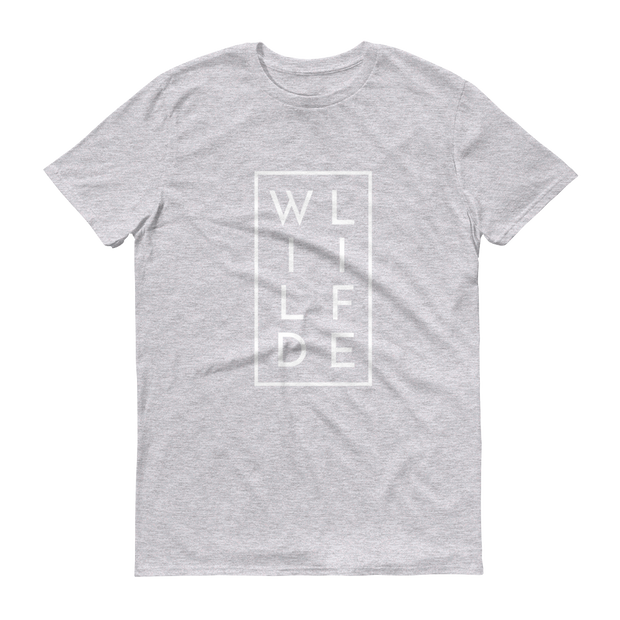 WILDLIFE Athletic Heather Grey T-Shirt  – World With Wildlife