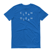 Clean Ocean T-Shirt Royal Blue – World With Wildlife