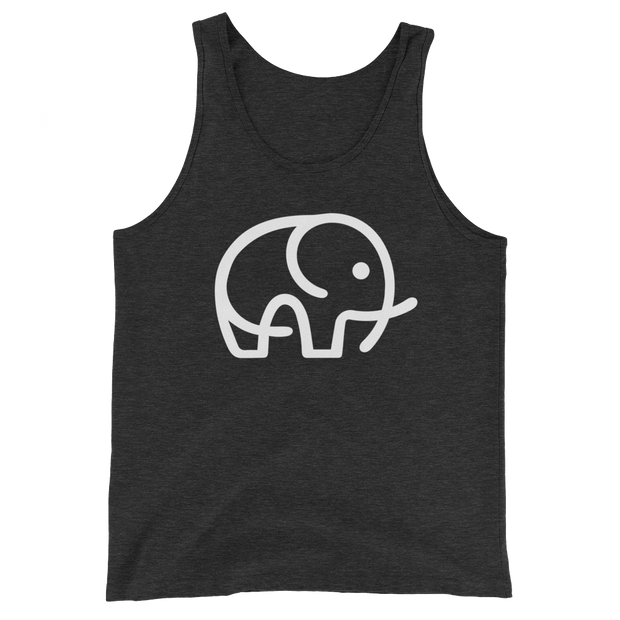 Gray Elephant Charity Top: Tank Tops & T-Shirts Supporting Elephant Conservation