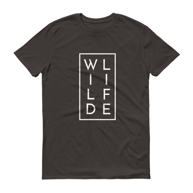 WILDLIFE Conservation T-Shirt Smoke Grey – World With Wildlife