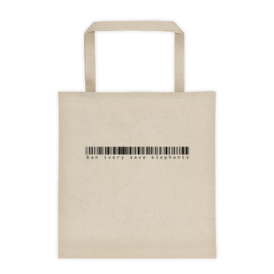 Ban Ivory - Save Elephants Tote Bag – World With Wildlife