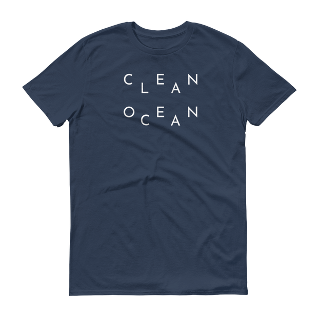 Clean Ocean T-Shirt Lake Blue – World With Wildlife