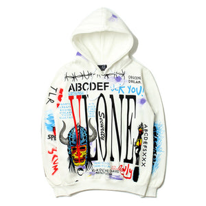 17SS Vlone Friends European and American street skateboard VW VW hip hop limited edition men and women hooded sweater