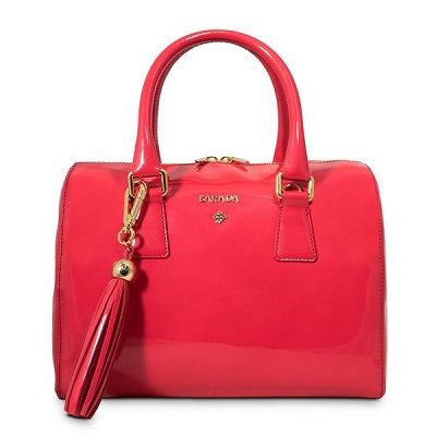 Thais Bowling Bag in Coral