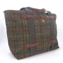 Luca Large Harris Tweed Tote bag