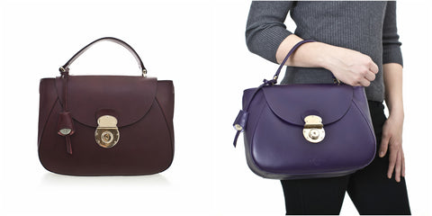 Charlotte Small Structured Leather Handbag