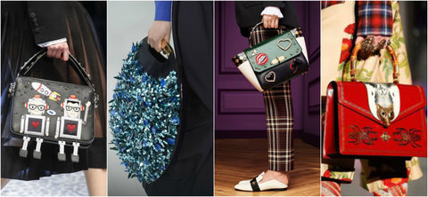 Dolce & Gabbana, Delpozo, Bally and Gucci Embellished Handbags
