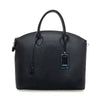 CAMILLA LARGE BLACK LEATHER HANDBAG Taylor & jackson