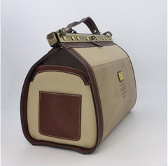 Regina Traditional Tan Briefcase
