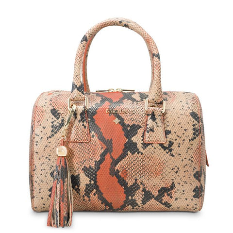 THAIS BOWLING BAG IN SNAKE