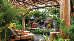 Waiea Garden at the Four Seasons in Hualalai