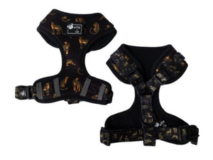 Adjustable Harness- Leopard