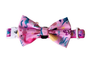 Collar & Bow Tie- Mermaid