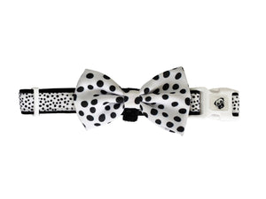 Collar & Bow Tie - Dots