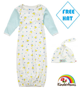 ac2d71b020d ... Piccalilly Nightgown and Hat Set - Toy Ducks