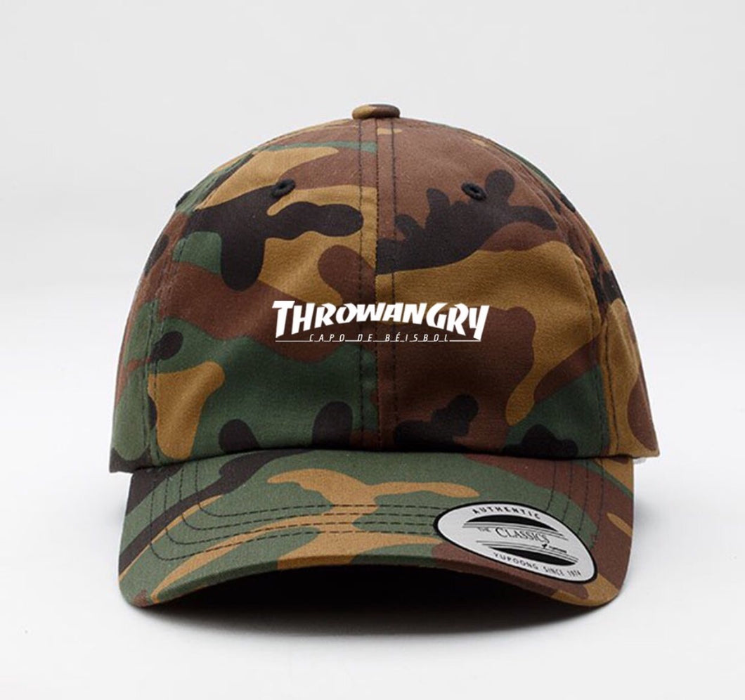 THROWANGRY SPOOF DAD HAT