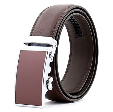 Amedeo Exclusive Men Brown Belt - Brown Buckle Leather