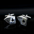 Men's Cards Playing Card Poker Gambling Casino Pair Cufflinks with Gift Box