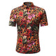 Men's Button down Tailor Fit Soft 100% Cotton Short Sleeve Dress Shirt Multi Color casual And Formal