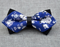 Men's Royal Cotton Pre-Tied Bow Tie